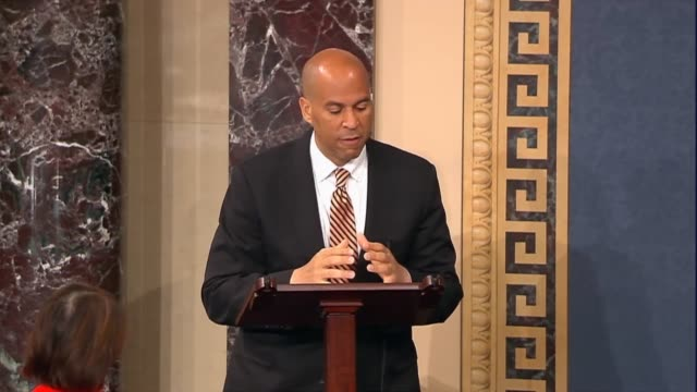 senator cory booker says on the nomination of ken marcus to be assistant secretary of education for civil rights that data shows that even in... - prison education stock videos & royalty-free footage