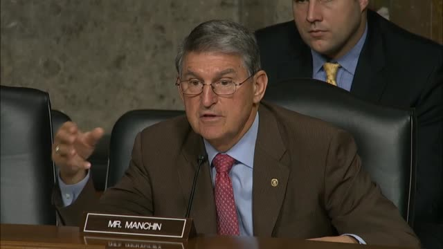 senator joe manchin of west virginia queries army general john campbell about difficulties with developing a domestic economy in afghanistan campbell... - john f. campbell general stock videos & royalty-free footage