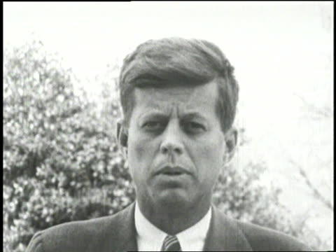senator john f kennedy delivers a speech about america's involvement in the indochina war - senator stock videos & royalty-free footage