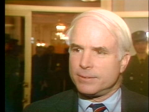 us senator john mccain says that the west german government has failed in stopping the sale and manufacture of chemical weapons - (war or terrorism or election or government or illness or news event or speech or politics or politician or conflict or military or extreme weather or business or economy) and not usa video stock e b–roll
