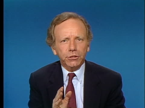 senator joseph lieberman says that cable television is a monopoly and prices are out of control. - cable television stock videos & royalty-free footage