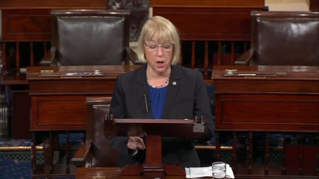 senator patty murray says she objected to confirming tom price as republicans jam through his confirmation, wondering whether secretary price was... - infamous stock videos & royalty-free footage