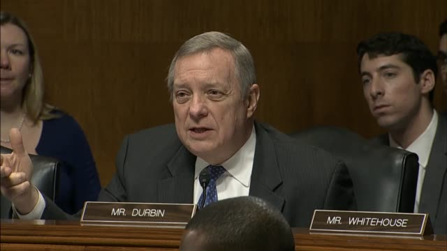 senator richard durbin of illinois says that there is no town too small or wealthy enough not to have heroin overdose deaths in his state at a... - drug overdose stock videos and b-roll footage