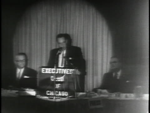 vidéos et rushes de senator william miller questions whether or not walter jenkins should be or has been privy to highly classified information. - united states and (politics or government)