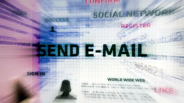 Sending E-Mail (White)
