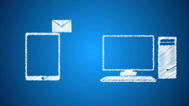 sending file - file stock videos & royalty-free footage
