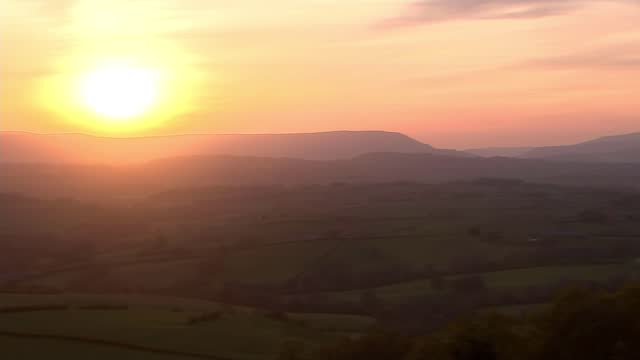 welsh party leaders ahead of next week's national election; wales: ext jane dodds interview sot pull focus countryside various shots of hills and... - hill stock videos & royalty-free footage