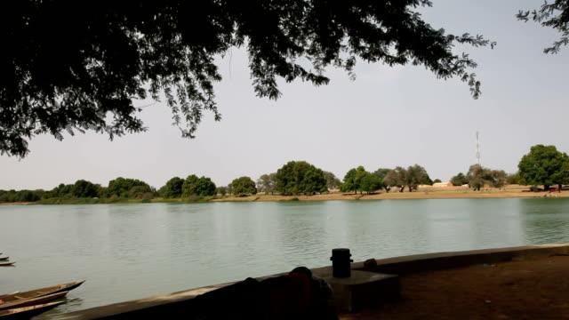 senegal, podor, daily life along the senegal river - mauritania stock videos & royalty-free footage