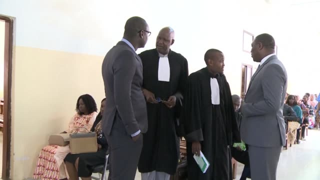 a senegalese court begins the longawaited trial of a religious leader and 21 disciples accused in the murder of two renegade followers seven years... - worshipper stock videos and b-roll footage