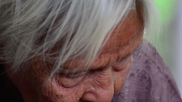 senior asian woman - candid stock videos & royalty-free footage