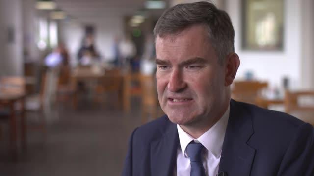 senior conservatives demand boris johnson apologises for burka comments england london int david gauke mp interview sot - burka stock videos and b-roll footage