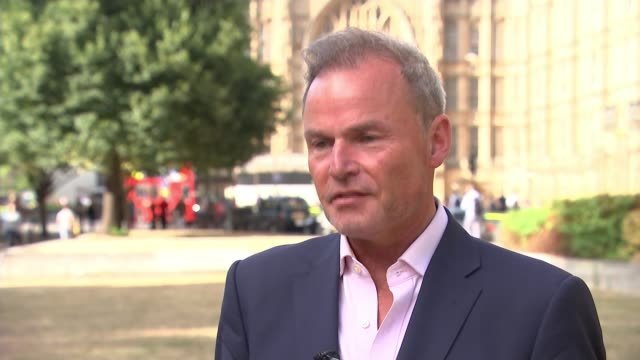 senior conservatives demand boris johnson apologises for burka comments england london westminster ext peter whittle am interview sot bus along woman... - burka stock videos and b-roll footage