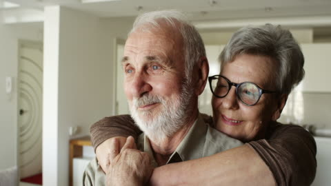 senior couple enjoying time spent together - care stock videos & royalty-free footage