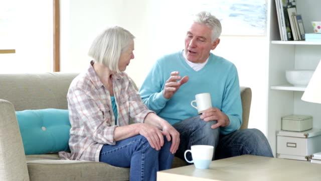 Senior Couple Having a Chat