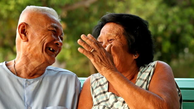 senior couple relaxing - thailand stock videos & royalty-free footage
