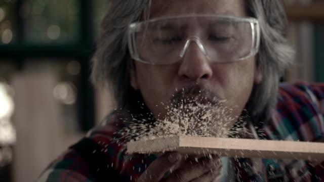 senior craftsperson - carpenter stock videos & royalty-free footage