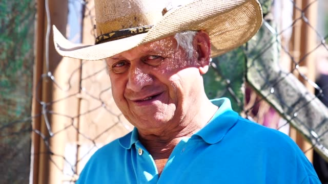 Senior boer/platteland man