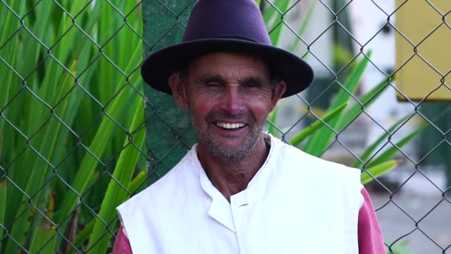 senior farmer/countryside man - etnia latino americana video stock e b–roll