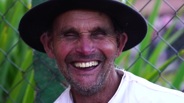 senior farmer/countryside man - latin american culture stock videos & royalty-free footage