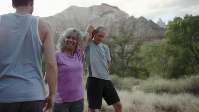 4K UHD: Senior Fitness in a Beautiful Location
