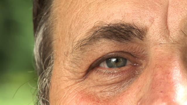 HD: Senior Man's Eye