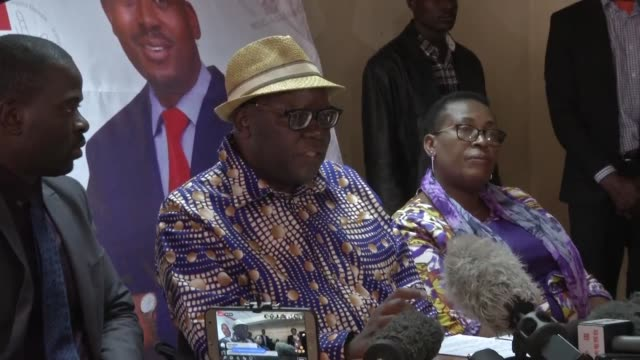 senior mdc official tendai biti says party leader nelson chamisa has won the presidential race and alleges that the authorities are delaying the... - publication stock videos & royalty-free footage