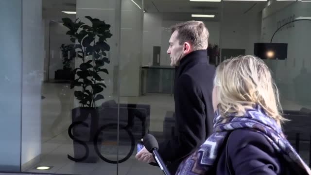 senior members of the labour party arrive at its headquarters in victoria london ahead of a national executive committee to set the leadership... - seumas milne stock videos & royalty-free footage