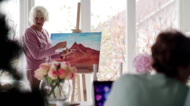 senior people enjoying free time - retirement community stock videos & royalty-free footage