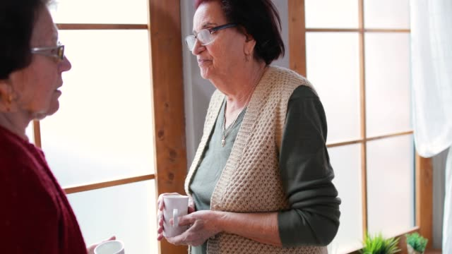 senior people in nursing home - senior men stock videos & royalty-free footage