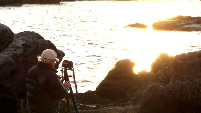 senior photographer taking pictures - photographer stock videos & royalty-free footage