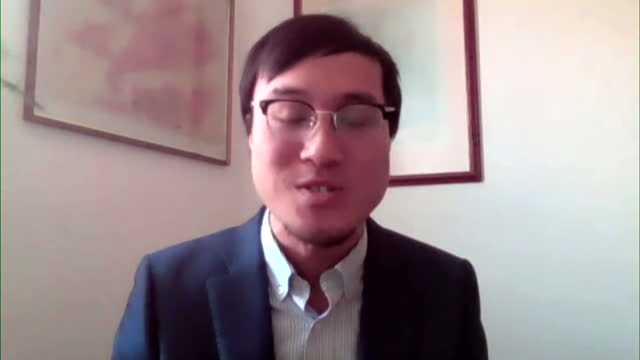 senior policy advisor byford tsang saying china, japan and south korea's carbon emissions are likely to be raised by the us in climate change meetings - mineral stock videos & royalty-free footage