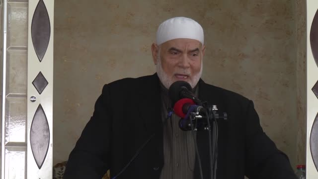 Senior political leader of Hamas Ismail Haniyeh and Deputy Chairman of Palestinian Legislative Council Ahmad Bahr speak about the proposed Azan ban...