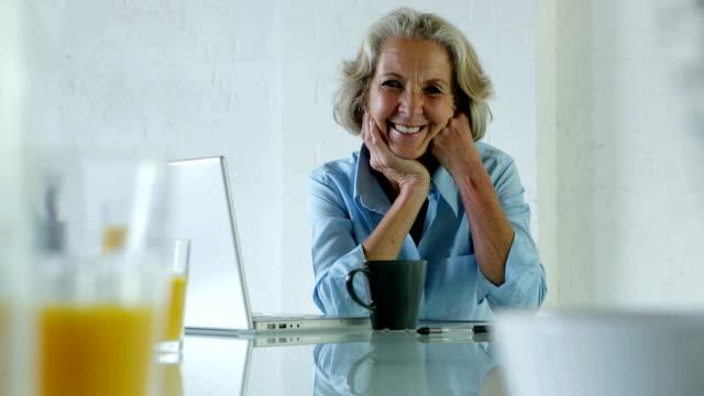 senior portrait, morning - grey hair stock videos and b-roll footage