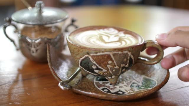 senior woman drinking coffee - coffee break stock videos & royalty-free footage