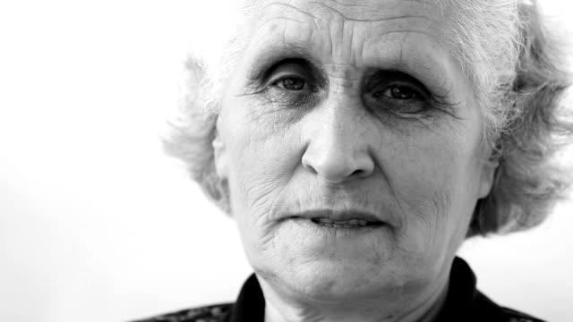senior woman - only senior women stock videos & royalty-free footage