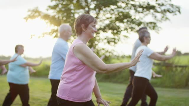 vídeos de stock e filmes b-roll de seniors outdoors - idosos ativos