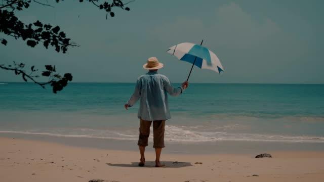 vídeos de stock, filmes e b-roll de seniors taking on the world - chapéu