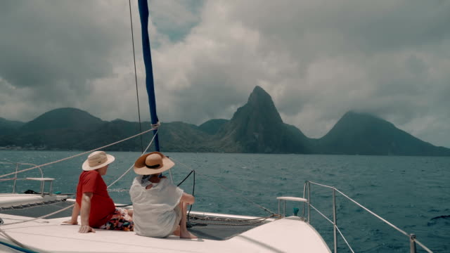 seniors taking on the world - st lucia stock videos & royalty-free footage