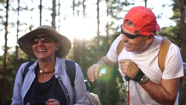 seniors taking on the world - weekend activities stock videos & royalty-free footage