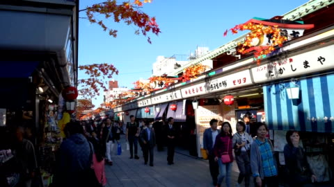 senso-ji temple asakusa tokyo japan - shrine stock videos & royalty-free footage