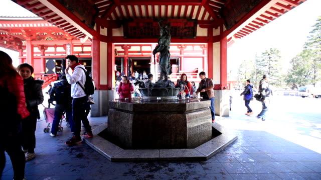 sensoji temple-japan - randoseru stock videos & royalty-free footage