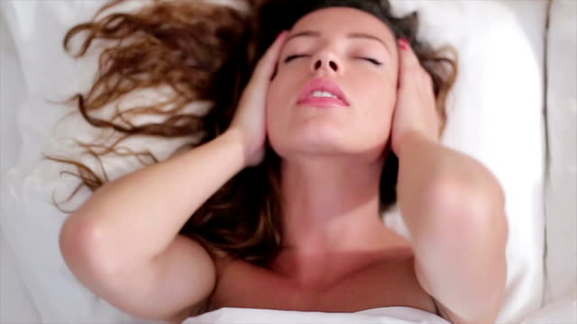 sensual woman having dreams - desire stock videos & royalty-free footage