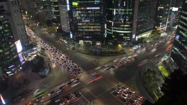 seoul city - korea stock videos & royalty-free footage