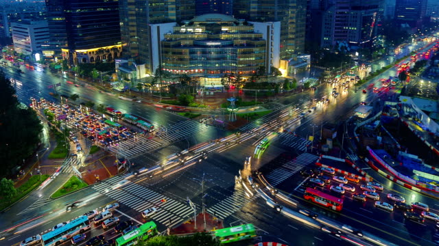 seoul city zoom - south korea stock videos & royalty-free footage