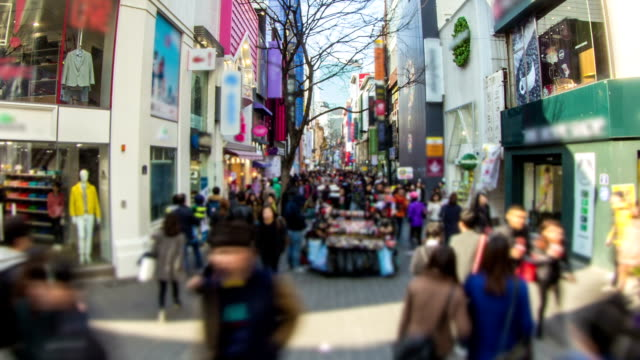 stockvideo's en b-roll-footage met seoul city zoom - middelste deel