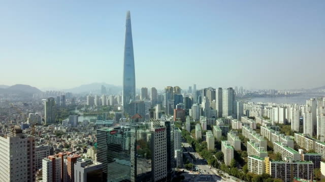 seoul cityscape - south korea stock videos & royalty-free footage
