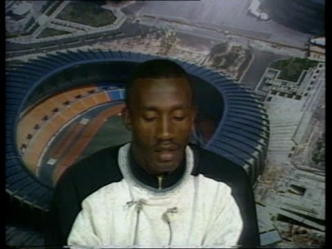 Ben Johnson stripped of gold medal ITN SOUTH KOREA Seoul INT CMS LINFORD CHRISTIE INTVW SOF At the time as a whole INT LMS SIDE Carl Lewis along on...