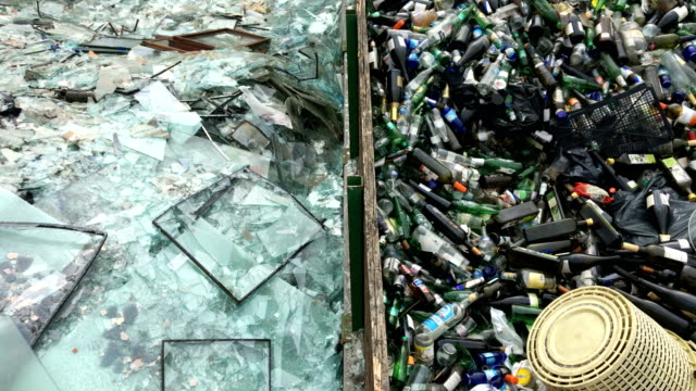 Separated Waste on a Dumpsite
