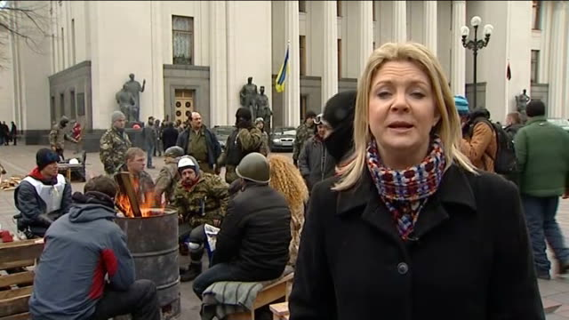separatism fears grow on ukraine's crimean peninsula ukraine kiev ext reporter to camera - separatism stock videos & royalty-free footage