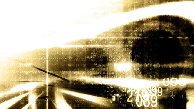 sepia data grunge - sfondo marrone video stock e b–roll